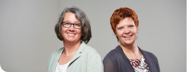 Annette Schlindwein und Heike Roggenkamp